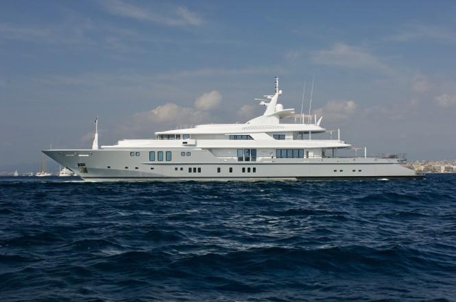 Motor yacht SIREN - Photo credit Nobiskrug Shipyard