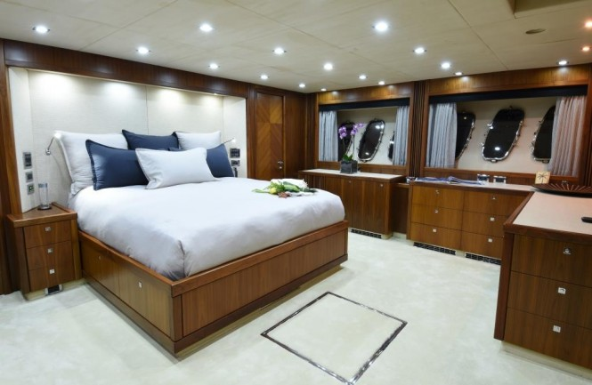 Open yacht DOUBLE D - Master suite