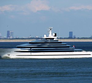 Watch: Recently Delivered 110m Mega Yacht Jubilee in Gibraltar