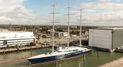 Oceanco sailing yacht BLACK PEARL