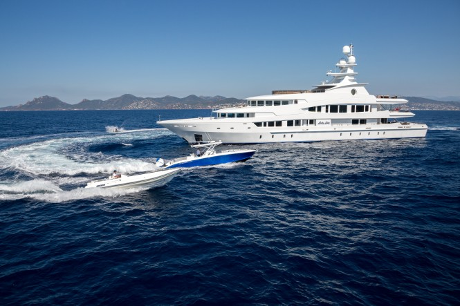 Oceanco superyacht LUCKY LADY