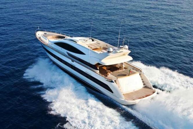 Open yacht TOBY - Built by Cerri