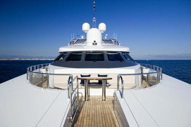 Portuguese deck aboard motor yacht KIJO