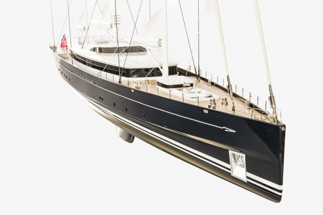 Royal Huisman 400 by Dykstra Naval Architects and Mark Whiteley Design. Photo credit Royal Huisman