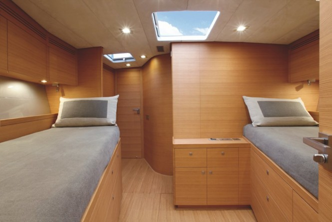 S/Y XNOI - Twin cabin