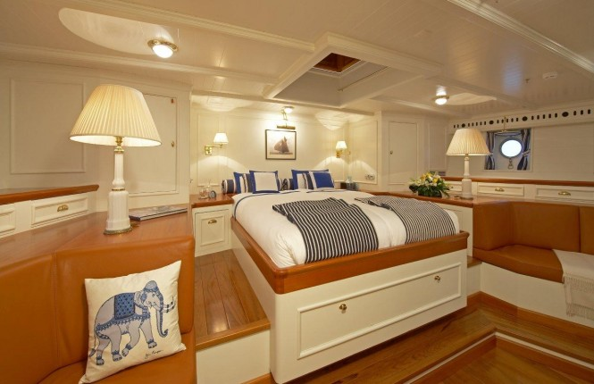 Sailing yacht GERMANIA NOVA - Master suite