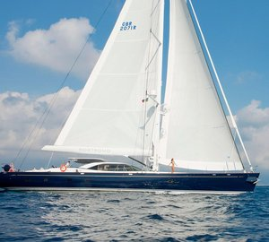 Charter sailing yacht Nostromo in the Western Mediterranean and Adriatic