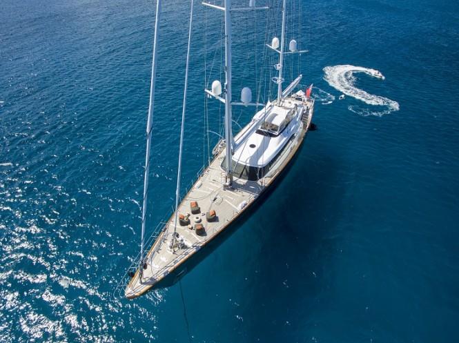 Sailing yacht PANTHALASSA - Built by Perini Navi