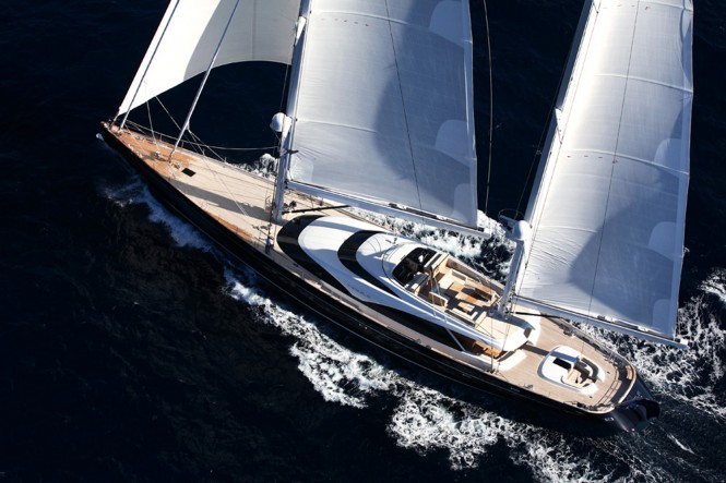 Sailing yacht TWIZZLE - Built by Royal Huisman