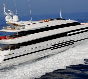 Charter luxury yacht Balista in the South of France