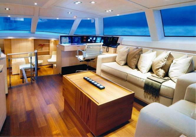 Superyacht BELLA RAGAZZA - Upper salon