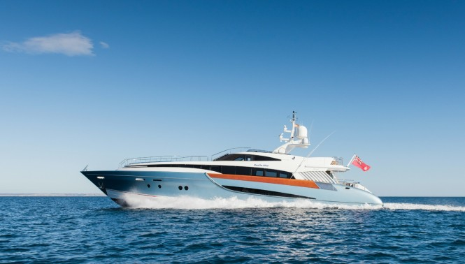 Superyacht BENITA BLUE - Built by Evolution Yachts