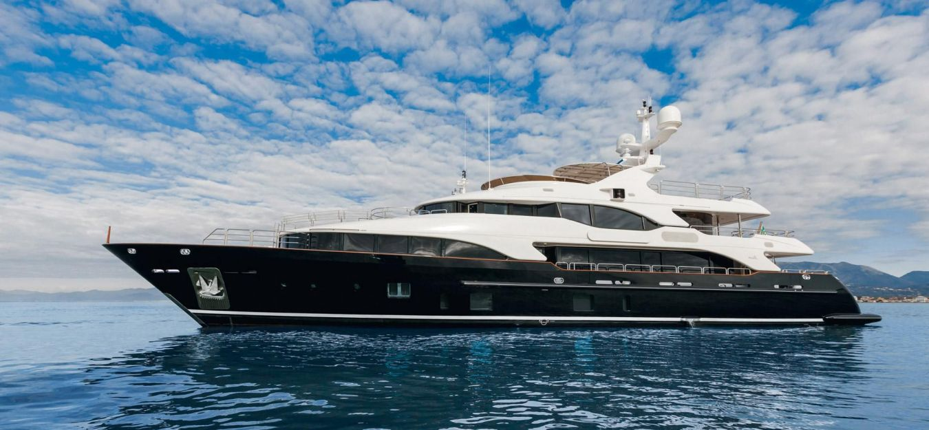 Superyacht checkmate built by benetti yacht charter for Luxury motor yachts for sale