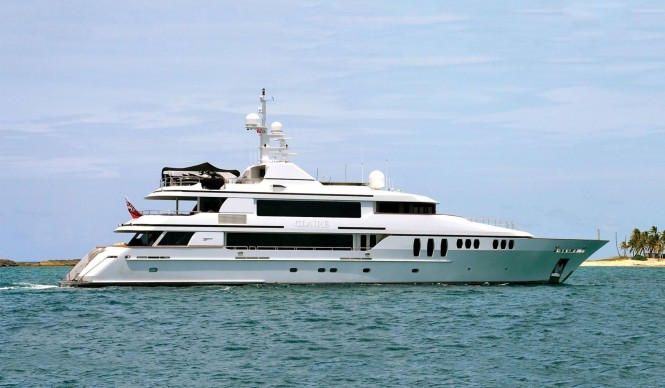 Superyacht CLAIRE - Built by Trinity Yachts