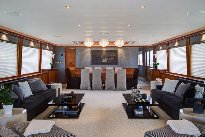 Superyacht ENDLESS SUMMER - Main salon