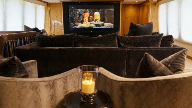 Superyacht GRAND ILLUSION - Movie theatre