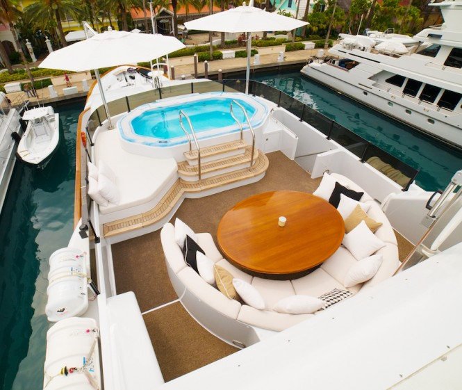 Superyacht GRAND ILLUSION - Sundeck