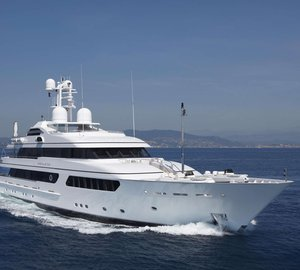 Last chance to charter M/Y Hurricane Run in the South of France