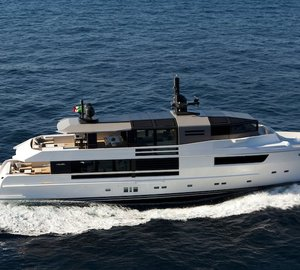 Charter superyacht Jurata in the Western Mediterranean
