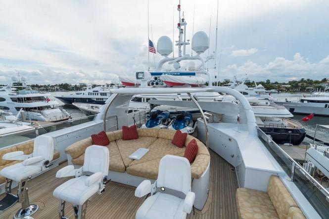 Superyacht NICOLE EVELYN - Sundeck