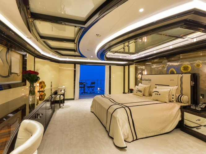 Superyacht OKTO - Master suite