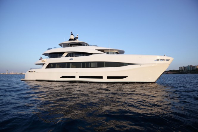 Superyacht QUARANTA - Built by Logos Marine