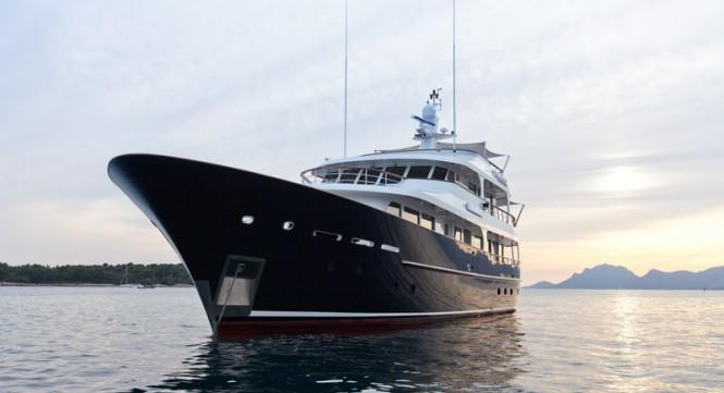 Superyacht ROBBIE BOBBIE (ex.HELIAD II) - Built by Lynx Yachts and designed by Diana Yacht Design