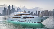 Superyacht SEHAMIA is the second hull in the Majesty 155 range from Gulf Craft