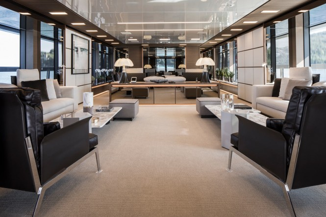 Superyacht SEVEN SINS - Main salon