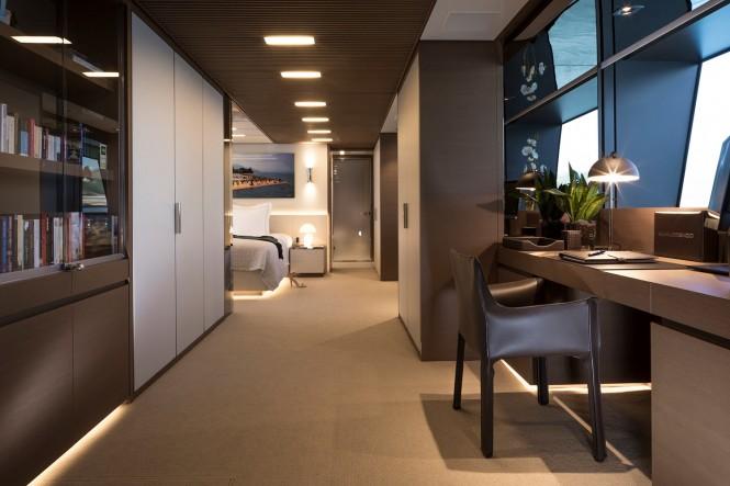 Superyacht SEVEN SINS - Master suite