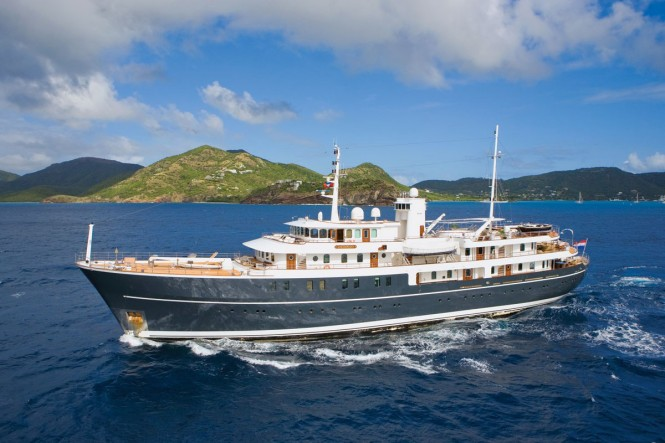 Superyacht SHERAKHAN - Built by Vyuk