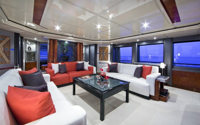 Superyacht SILVER DREAM - Salon