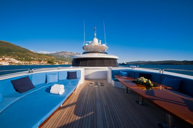Superyacht SPIRIT - Foredeck seating