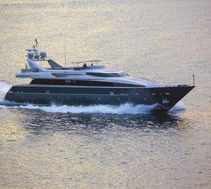 Charter superyacht Tamara Rd in the Balearic Islands