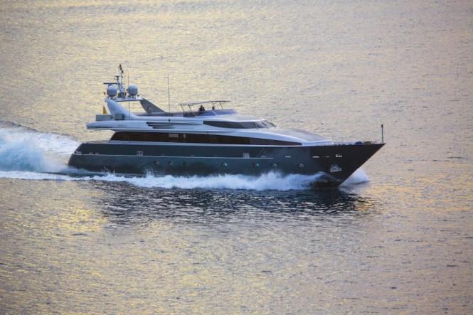 Superyacht TAMARA RD - Built by CNL