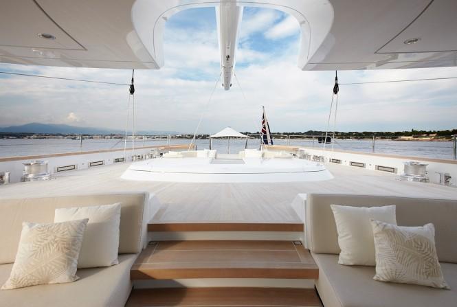 Superyacht TWIZZLE - Aft cockpit