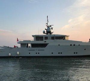 Tansu Yachts Launched Superyacht Esosh aka Project Echo-R