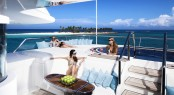 Yacht LADY-S_in the caribbean