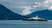 superyacht Serene in New Zealand