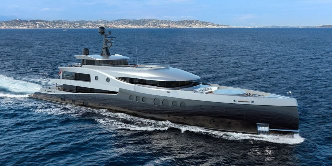 Amels unveils a 63m/206ft concept for its Limited Editions series