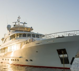 Special offer: Save on Mediterranean charters aboard luxury yacht Metsuyan IV