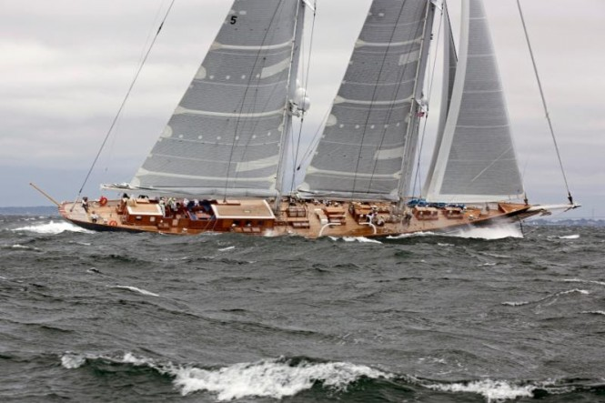 Class C winner, sailing yacht METEOR. Photo credit - Billy Black