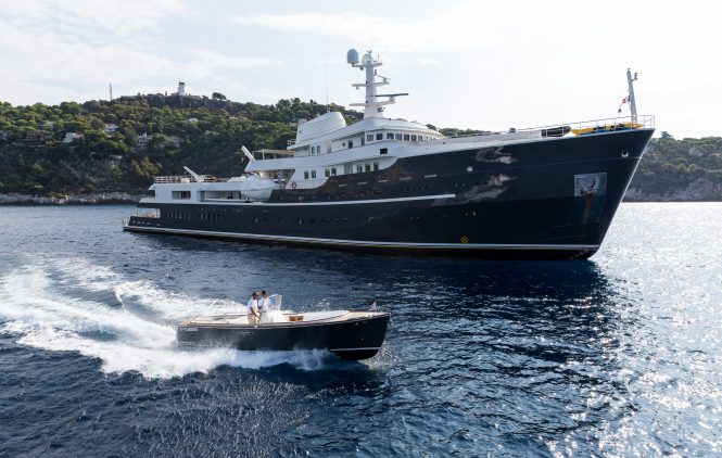 Classic explorer yacht LEGEND - Converted by Icon Yachts