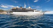 Classic motor yacht CHAKRA - Restored by Devonport Yachts