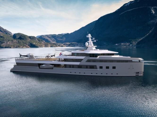 Damen Yachts sells second SeaXplorer expedition yacht