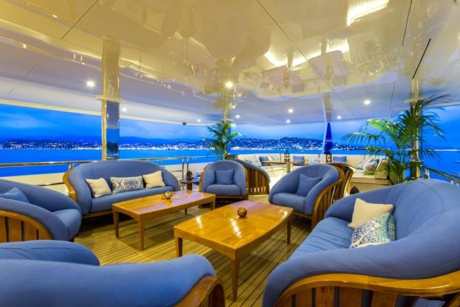 Delta Marine superyacht SEANNA - Main aft deck