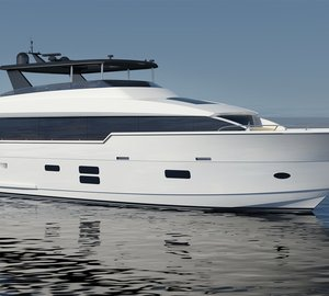Hatteras launches its first Hatteras 90 motor yacht