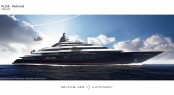 Lurssen and Nuvolari Lenard superyacht PROJECT REDWOOD