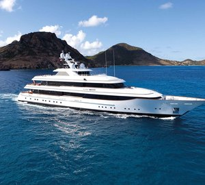 Gourmets will fall in love with M/Y Lady Britt on a Mediterranean charter