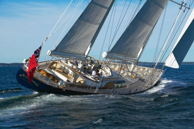 Luxury ketch ASOLARE - Built by Hodgdon Yachts